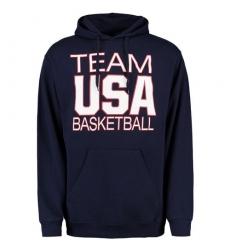 NBA Men's Team USA Basketball National Governing Body Pullover Hoodie - Navy