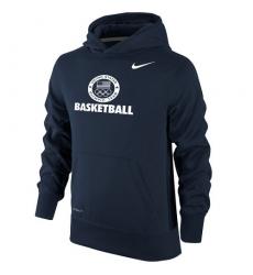 NBA Men's Team USA Basketball Nike Sport KO Performance Pullover Hoodie - Navy