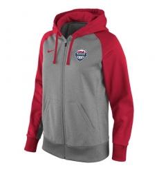 NBA Men's Team USA Basketball Nike Women's Logo Performance Full-Zip Hoodie