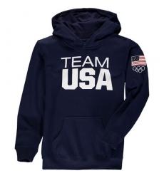 NBA Men's Team USA Coast To Coast Hoodie - Navy
