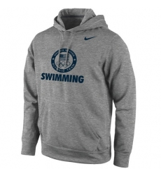 NBA Men's Team USA Swimming Nike Sport KO Performance Pullover Hoodie - Dark Gray