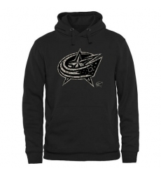 NHL Men's Columbus Blue Jackets Black Rink Warrior Pullover Hoodie