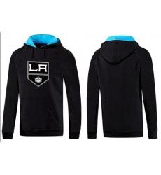 NHL Men's Los Angeles Kings Big & Tall Logo Hoodie - Black/Blue