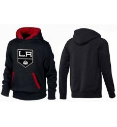 NHL Men's Los Angeles Kings Big & Tall Logo Hoodie - Black/Red