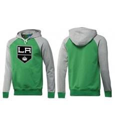 NHL Men's Los Angeles Kings Big & Tall Logo Hoodie - Green/Grey