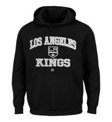 NHL Men's Los Angeles Kings Majestic Heart & Soul Hoodie - Black