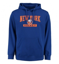 NHL Men's New York Islanders Rinkside City Pride Pullover Hoodie - Royal