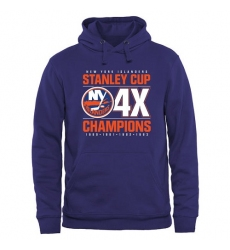 NHL Men's New York Islanders Rinkside Victor Pullover Hoodie - Royal