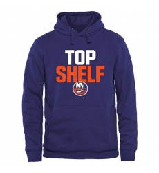 NHL Men's New York Islanders Top Shelf Pullover Hoodie - Royal