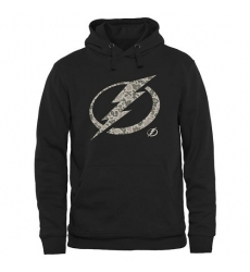 NHL Men's Tampa Bay Lightning Black Rink Warrior Pullover Hoodie