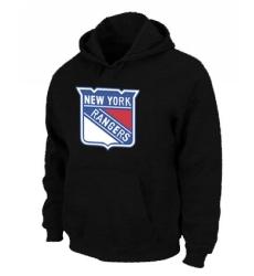NHL Men's New York Rangers Pullover Hoodie - Black