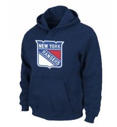 NHL Men's New York Rangers Pullover Hoodie - Navy