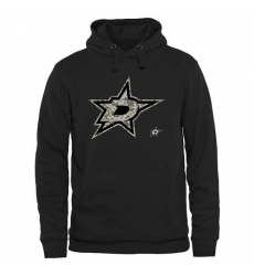 NHL Men's Dallas Stars Black Rink Warrior Pullover Hoodie