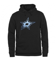 NHL Men's Dallas Stars Rinkside Pond Hockey Pullover Hoodie - Black