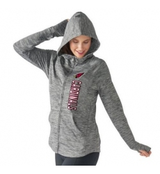 NFL Arizona Cardinals G-III 4Her by Carl Banks Women's Recovery Full-Zip Hoodie - Gray