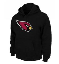 NFL Men Nike Arizona Cardinals Logo Pullover Hoodie - Black