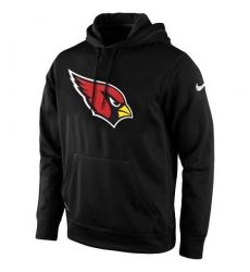 NFL Men's Arizona Cardinals Nike Black KO Logo Essential Hoodie