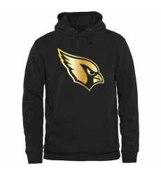NFL Men's Arizona Cardinals Pro Line Black Gold Collection Pullover Hoodie