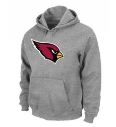 NFL Men's Nike Arizona Cardinals Logo Pullover Hoodie - Grey