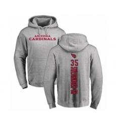 NFL Nike Arizona Cardinals #35 D.J. Swearinger SR Ash Backer Pullover Hoodie