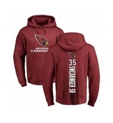 NFL Nike Arizona Cardinals #35 D.J. Swearinger SR Maroon Backer Pullover Hoodie