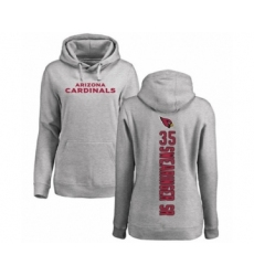 NFL Women's Nike Arizona Cardinals #35 D.J. Swearinger SR Ash Backer Pullover Hoodie