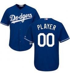 Men's Los Angeles Dodgers Majestic Royal Cool Base Custom Jersey