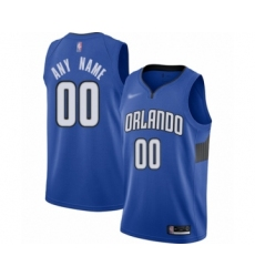 Youth Orlando Magic Customized Swingman Blue Finished Basketball Jersey - Statement Edition