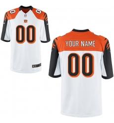Nike Men's Cincinnati Bengals Customized Game White Jersey