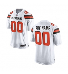 Nike Cleveland Browns Youth White Custom Game Jersey