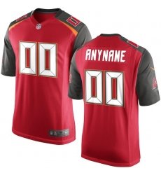 Men's Tampa Bay Buccaneers Nike Red Custom Game Jersey