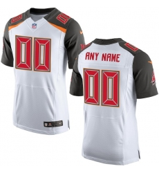 Men's Tampa Bay Buccaneers Nike White Elite Custom Jersey