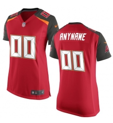 Women's Tampa Bay Buccaneers Nike Red Custom Game Jersey