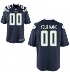 Youth Los Angeles Chargers Nike Navy Custom Game Jersey