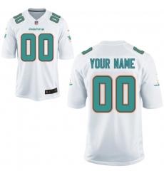 Nike Men's Miami Dolphins Customized White Game Jersey