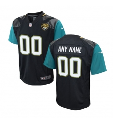 Preschool Jacksonville Jaguars Nike Black Customized Game Jersey
