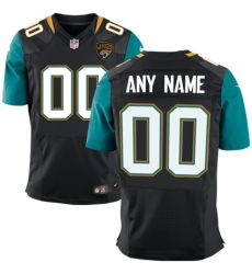 Men's Jacksonville Jaguars Nike Black Custom Elite Jersey