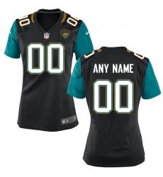 Women's Jacksonville Jaguars Nike Black Custom Jersey