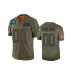 Youth Jacksonville Jaguars Customized Camo 2019 Salute to Service Limited Jersey