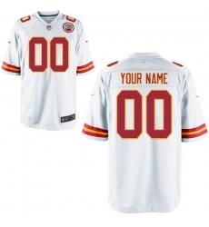 Nike Men's Kansas City Chiefs Customized Game White Jersey