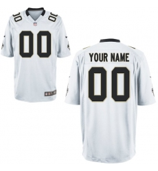 Nike Men's New Orleans Saints Customized Game White Jersey