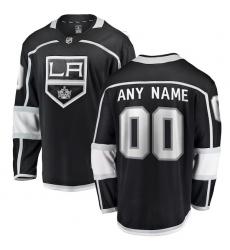 Men's Los Angeles Kings Fanatics Branded Black Home Breakaway Custom Jersey