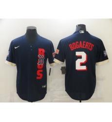 Men's Boston Red Sox #2 Xander Bogaerts Nike Navy 2021 All-Star Game Replica Jersey