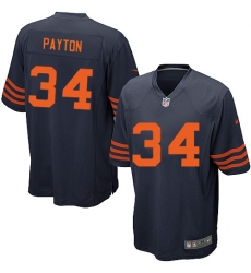 Youth Nike Chicago Bears #34 Walter Payton Navy Blue Alternate Vapor Untouchable Limited Player NFL Jersey