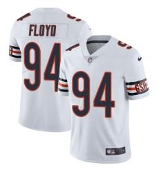 Men's Nike Chicago Bears #94 Leonard Floyd White Vapor Untouchable Limited Player NFL Jersey