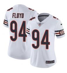 Women's Nike Chicago Bears #94 Leonard Floyd White Vapor Untouchable Limited Player NFL Jersey