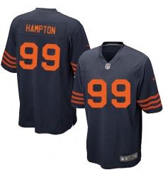 Men's Nike Chicago Bears #99 Dan Hampton Game Navy Blue Alternate NFL Jersey