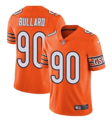 Men's Nike Chicago Bears #90 Jonathan Bullard Elite Orange Rush Vapor Untouchable NFL Jersey