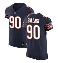 Men's Nike Chicago Bears #90 Jonathan Bullard Navy Blue Team Color Vapor Untouchable Elite Player NFL Jersey