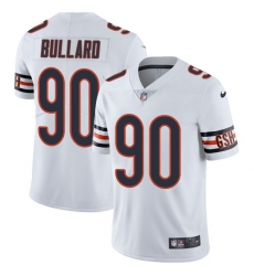 Youth Nike Chicago Bears #90 Jonathan Bullard White Vapor Untouchable Limited Player NFL Jersey